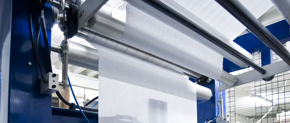 High volume wet wipes production